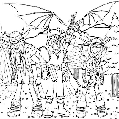 It's been five years since hiccup and toothless successfully united dragons and vikings on the island of berk. How To Train Your Dragon Coloring Pages
