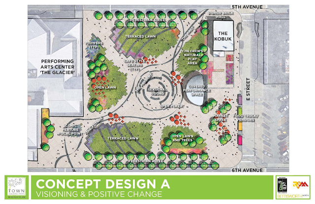 Anchorage Town Square — Concept Design A