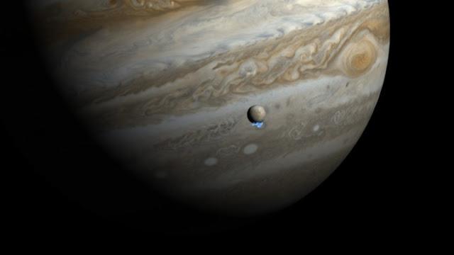 Με αρχαιοελληνικά ονόματα τα πέντε φεγγάρια του Δία