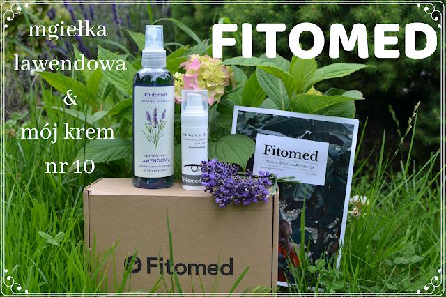 Recenzja kosmetyków Fitomed - mgiełka do twarzy & mój krem nr 10
