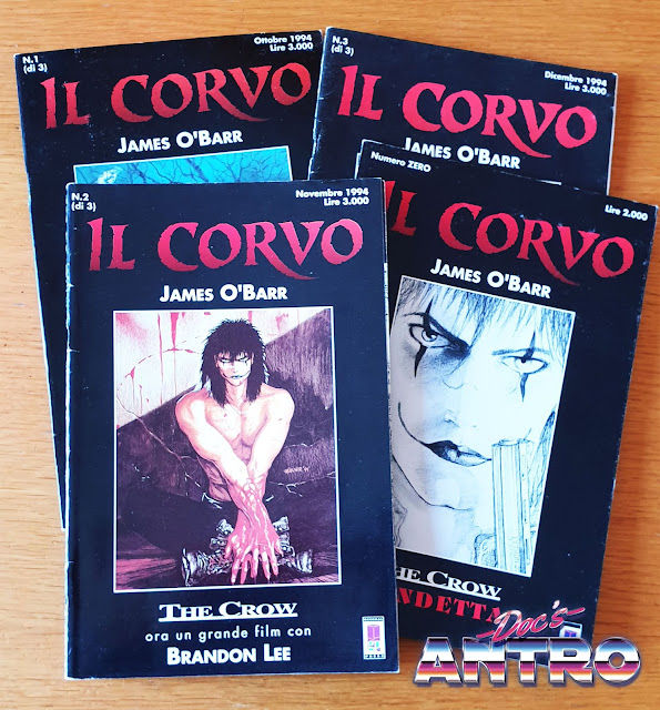 Il corvo O'Barr fumetto General Press 1994