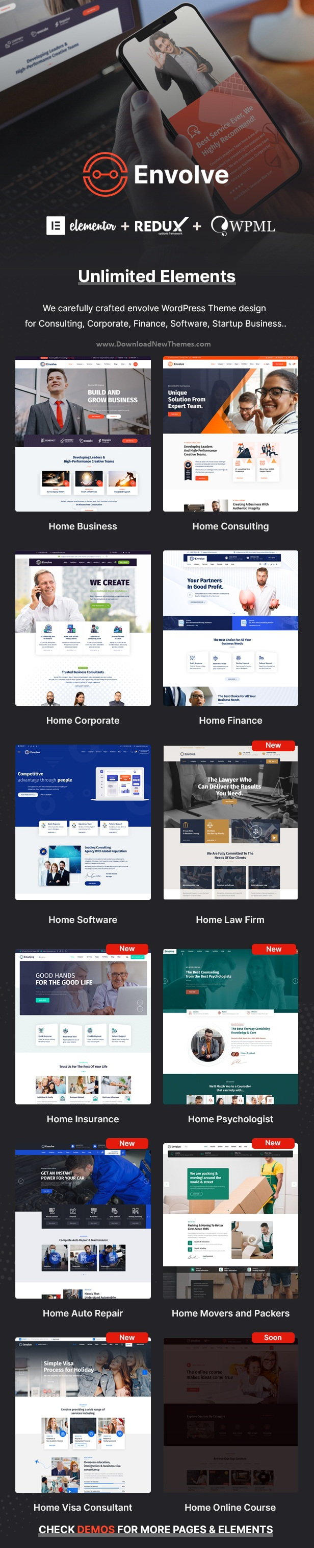 Consulting Business WordPress Theme