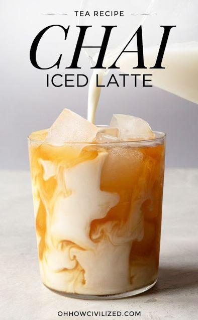 Chai Iced Latte