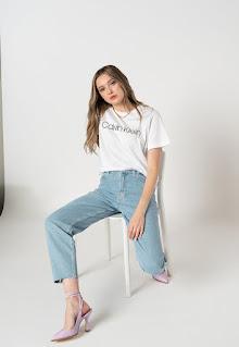 Calvin Klein - Дамски Дънки с висока талия