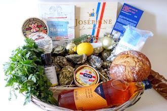Coup de Coeur : En collaboration avec le Marché de Rungis, le chef Christophe Saintagne du restaurant Papillon, imagine deux recettes autour de l'huître pour les Fêtes de Fin d'année