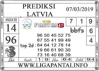 """Prediksi Togel """"LATVIA"""" PANTAI4D 07 MARET 2019"""