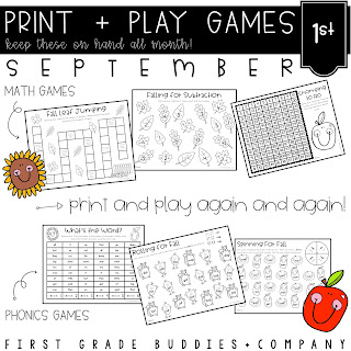 https://www.teacherspayteachers.com/Product/September-Print-and-Play-No-Prep-Math-and-Phonics-Games-4843424