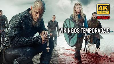 Vikingos Temporada 5 4K 1