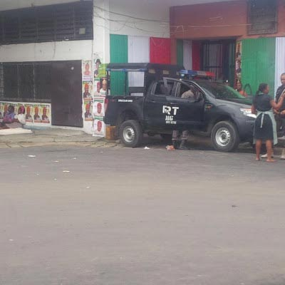 Policemen barricade venue of PDP convention in Port Harcourt