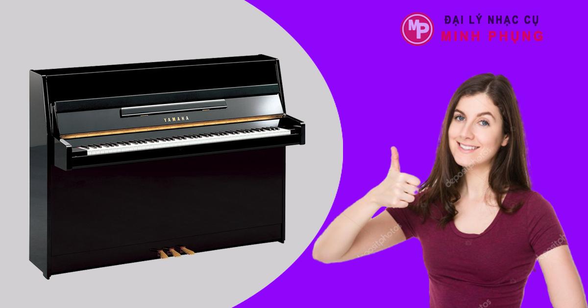 Đàn Upright Piano Yamaha JU109 PE - Giá mua bán Dương Cầm