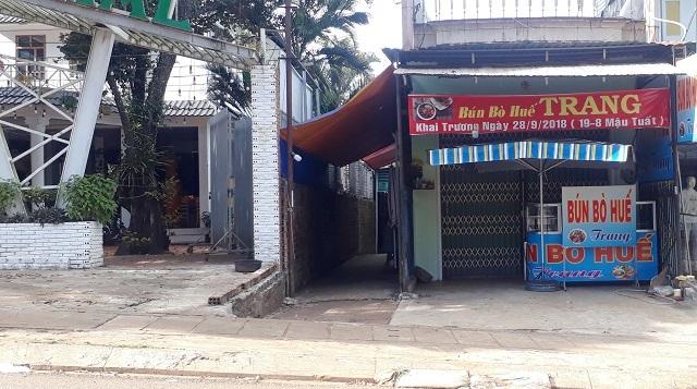 """Gia Lai: Giang hồ đòi """"bảo kê' quán bún bò, bắt chia 50% thu nhập hằng tháng"""