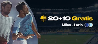 bwin Gana solo por jugar Milan vs Lazio 23-12-2020