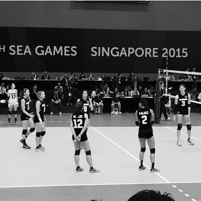 SEA Games 2015 Women's Volleyball Team Philippines