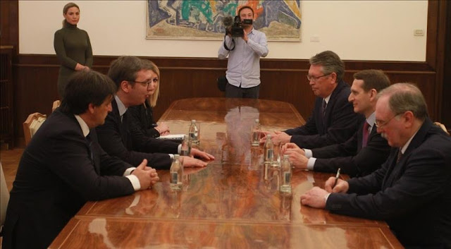Vucic meets the Russian intelligence chief, they discuss about the Balkans