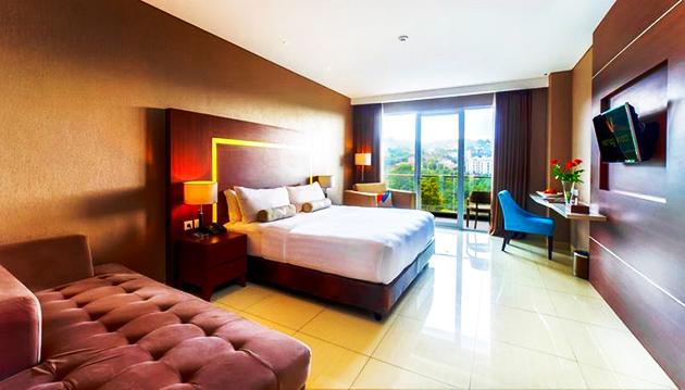 Kesehatan kerja dapat dilakukan dengan mewujudkan udara ruangan hotel yang sehat