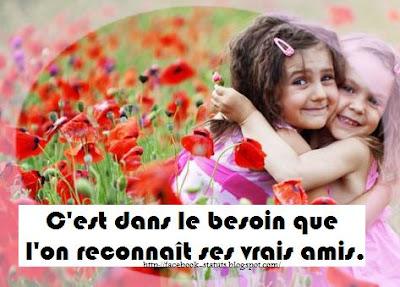 citation facebook amitié