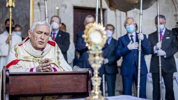 La procesión del Corpus de Cádiz volverá a celebrarse dentro de la Catedral