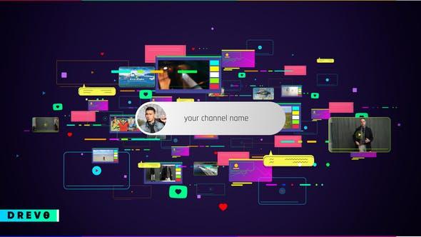 Videohive - Social Media Intro - 28781499