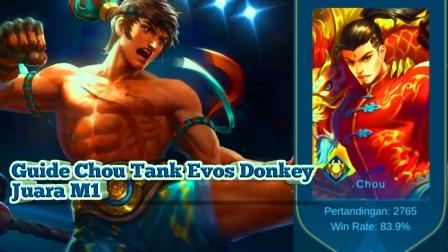 guide chou tank ala evos donkey