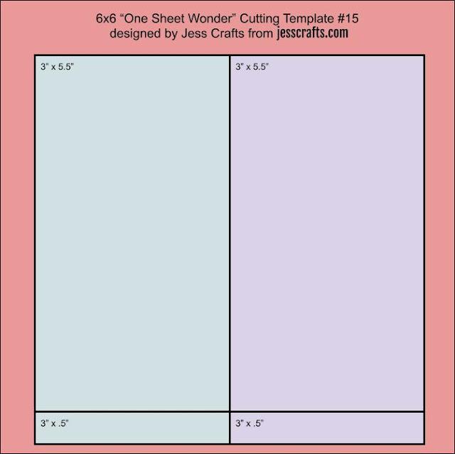 One Sheet Wonder Template #15 by Jess Crafts