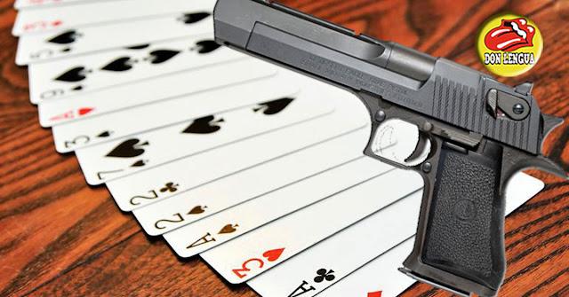 Un simple juego de cartas dejó 2 muertos en Carapita