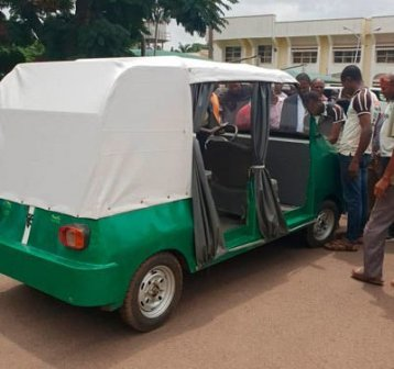 UNN Makes Breaks Record, Produces First Electric Car In Nigeria