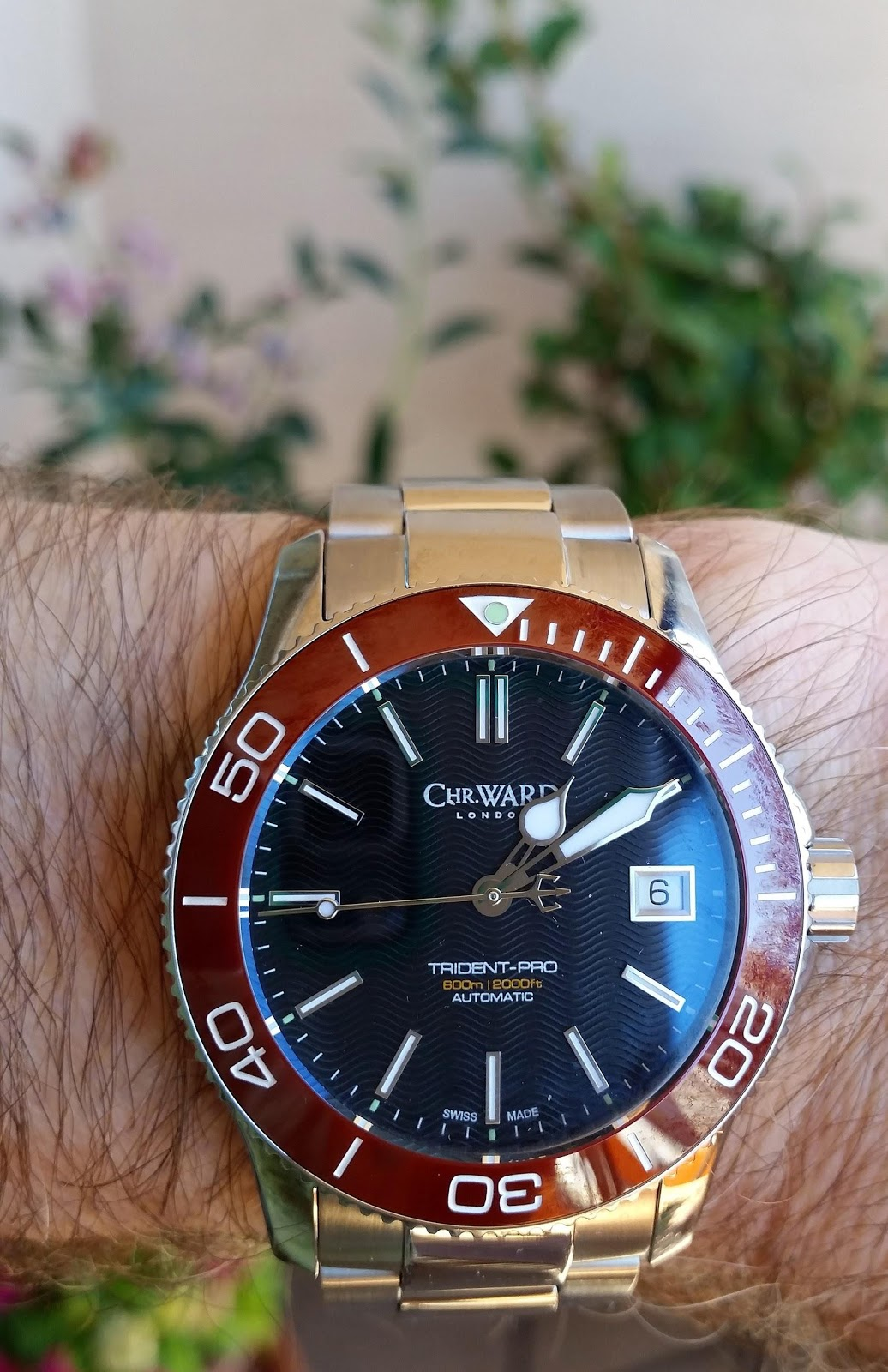 a better wrist the christopher ward trident pro 600 belongs on your