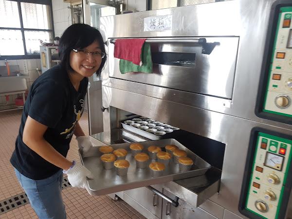 香田國小推教學換宿計畫 烘焙課DIY米食蜂蜜蛋糕