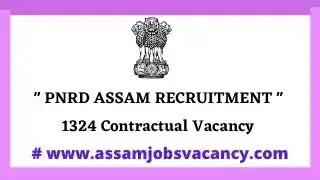 PNRB Assam Job Recruitment  2021