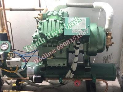 Trình điện lạnh, lắp đặt sửa chữa kho lạnh