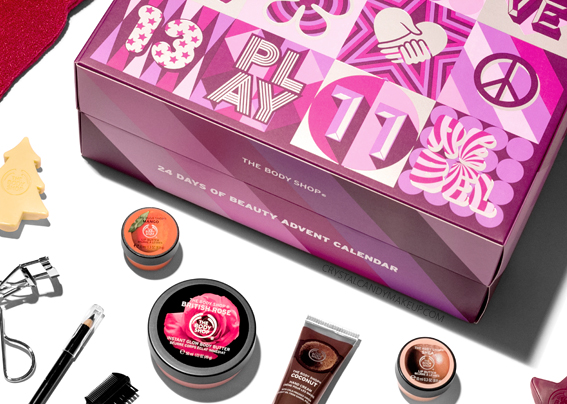 The Body Shop 24 Days Of Beauty Holiday 2017 Advent Calendar Review