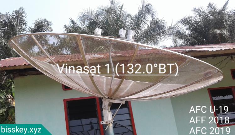 Arah dan Cara Tracking Satelit Vinasat 1 C-Band