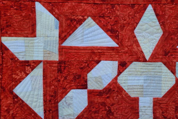 Winter Frost mini quilt | DevotedQuilter.com