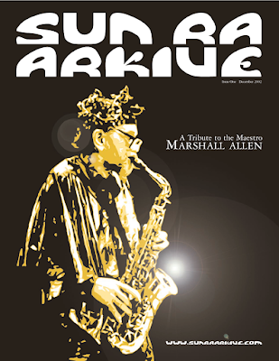 Marshall Allen saxophonist and director of Sun Ra Arkestra