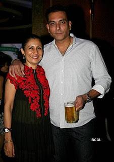 Ravi Shastri And His Wife Ritu Singh