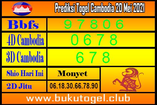 Prediksi Kamboja 20 Mei 2021