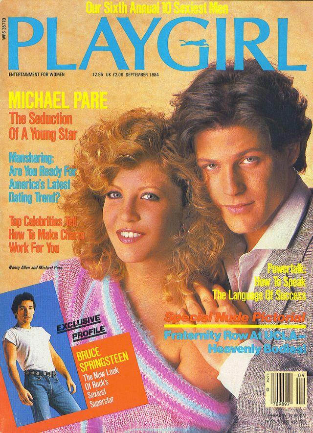 Timothy Dalton, Playgirl Magazine July 1987 Cover Photo