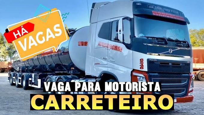 Transportadora Mandacari abre vagas para motorista carreteiro