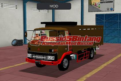 Mod Bussid Truck Mitsubishi jadul