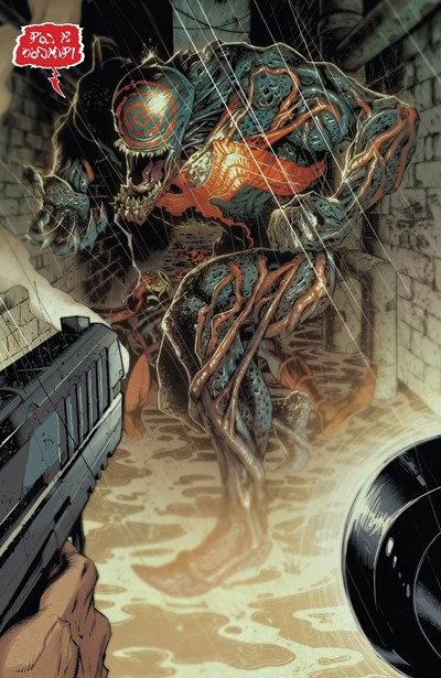 El simbionte Grendel de Marvel