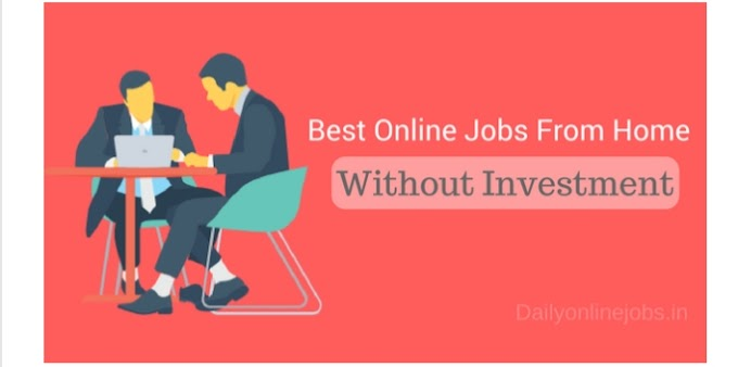 10 Best online jobs from home without any investment 2020 । Ghar bethe pese kese kamye