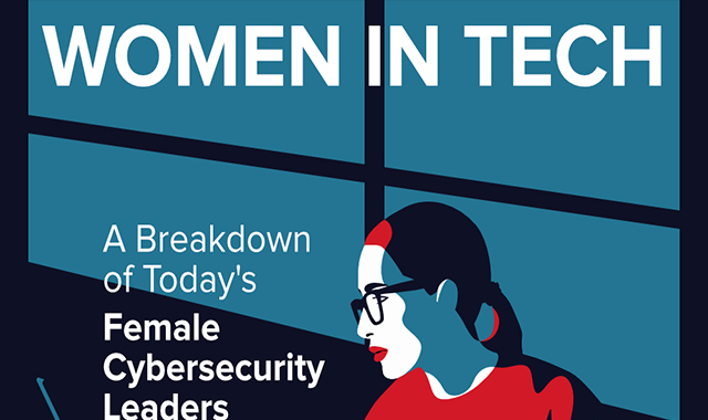 Women In Tech The Anatomy Of A Female Cybersecurity Leader #infographic