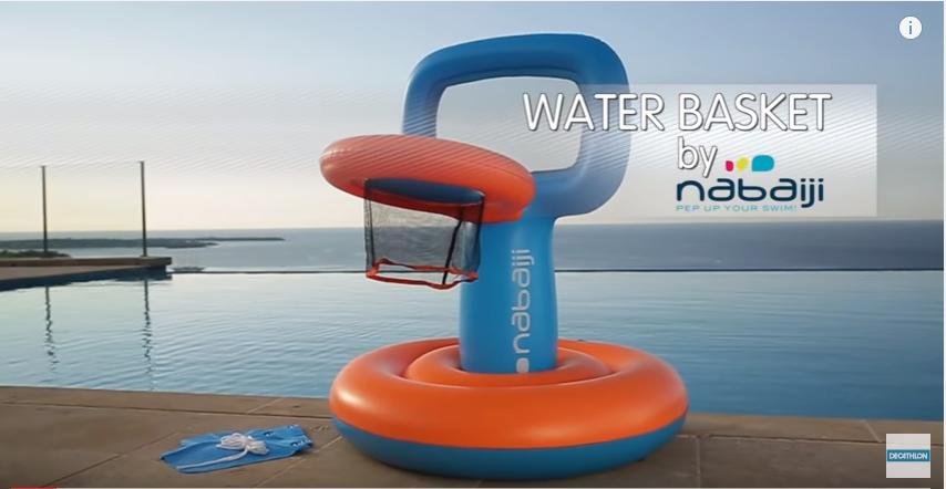 Canzone Pubblicità Canestro Gonfiabile Aquabasket Nabaiji