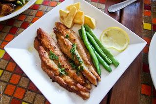 la cucina, lunch, dori with lemon, Mountain Lake Restort, Caliraya Springs, Laguna