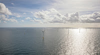 The Gemini wind farm includes 150 turbines in the North Sea. (Image Credit: Netherlands Embassy) Click to Enlarge.