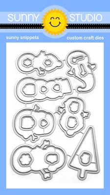 Sunny Studio Stamps: Feeling Frosty Snowman Metal Cutting Dies