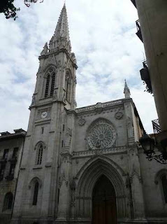 Bilbao Santiago Cathedral in today Private Tour with Basque Tourguide Aitor Delgado