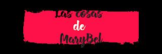 Logo rechazado 2 Las cosas de MaryBel subrayado
