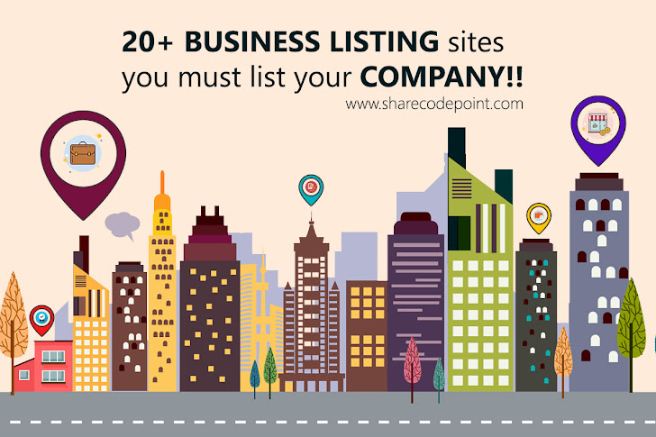 20+ Top free business listing sites you must list your company