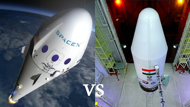 isro-vs-spacex-will-isro-outwit-spacex-in-RLV-technology